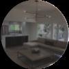 living room interior design circle crop